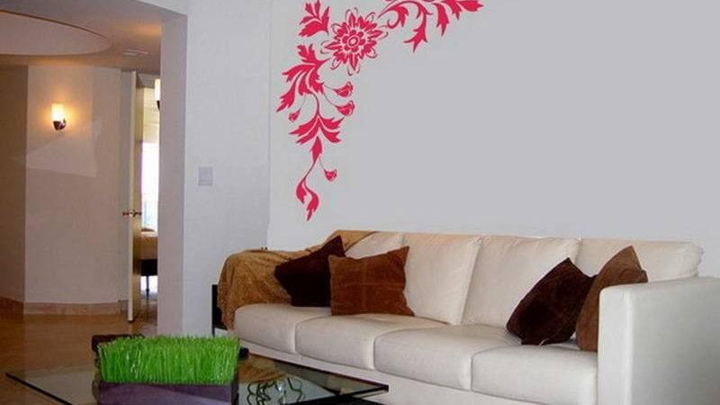 Simple Wall Paintings Living Room Weneedfun