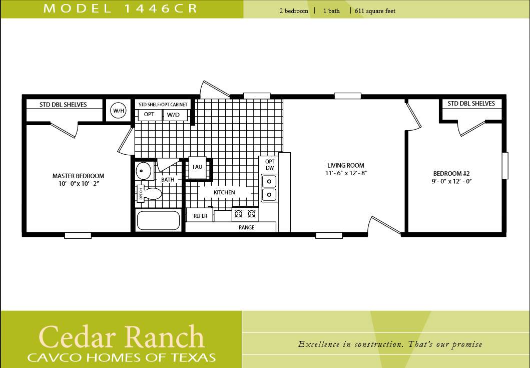 Awesome 20 Images 2 Bedroom Single Wide Mobile Homes ...
