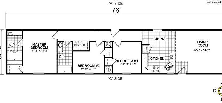 Single Wide Mobile Home Floor Plans Bestofhouse