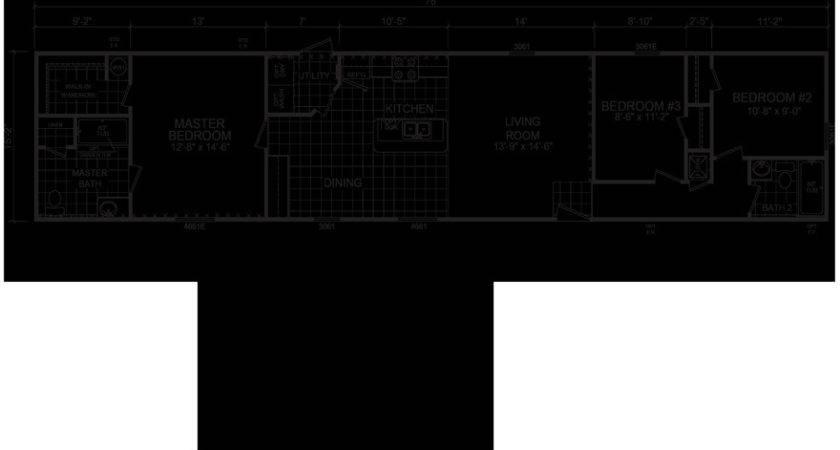 Single Wide Mobile Home Floor Plans Michigan Matttroy