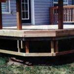 Skirts Installing Horizontal Skirt Supports Diy Deck Plans