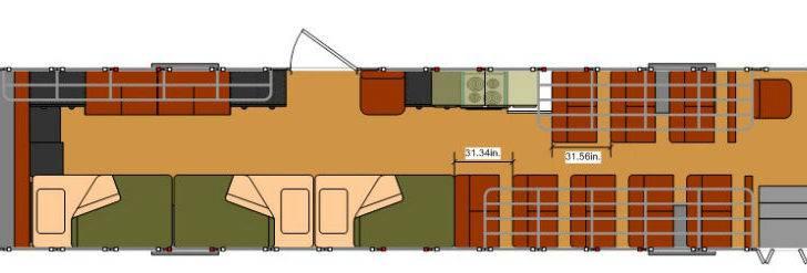 Skoolie Floor Plan Best Sample
