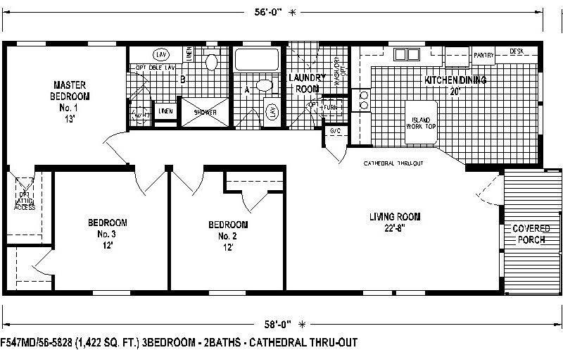 Skyline Mobile Homes Floor Plans Ideas