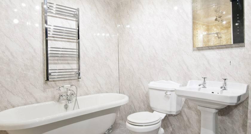 Slate Grey Bathroom Wall Panels