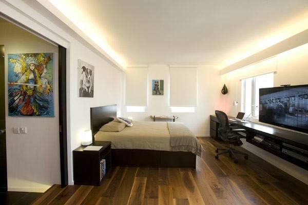 Small Bachelor Pad Bedroom Design Idea Decoist