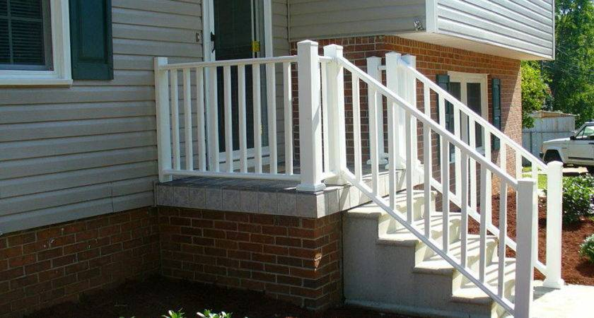 Small Front Porch Railing Ideas Home Design