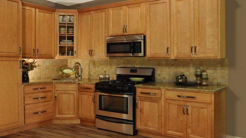 Small Kitchen Paint Colors Oak Cabinets Idea Home