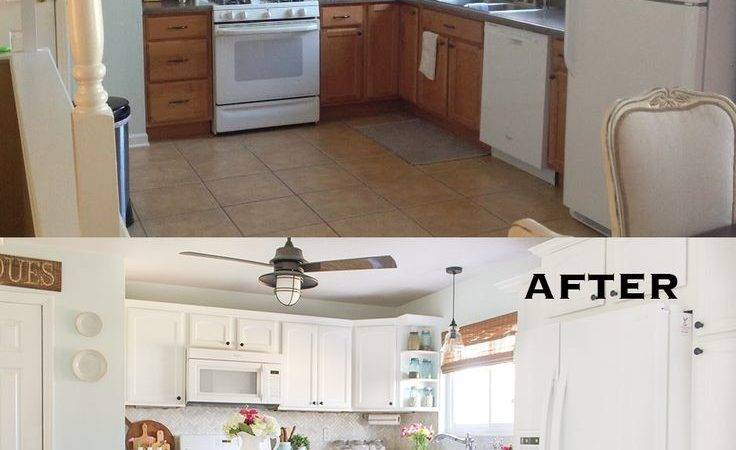 Small Kitchen Renovations Before After Diy