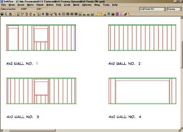 Softplan Home Design Software Wall Framing
