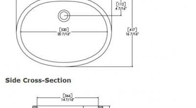 Standard Sink Sizes Presented Your Flat