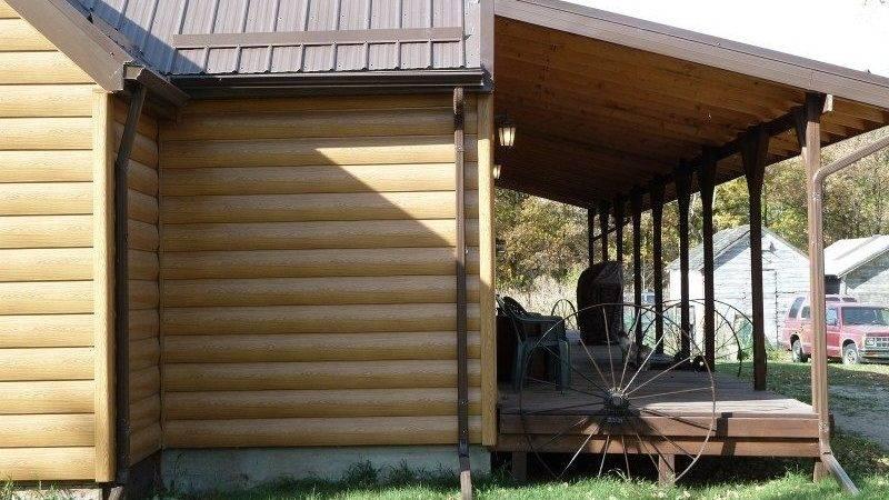 Steel Log Siding Superior Seamless Installation
