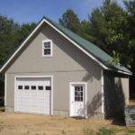 Stick Built Residential Garages Maine