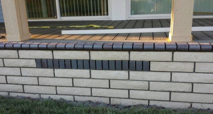 Stone Mobile Home Skirting Masonry Contractor Talk