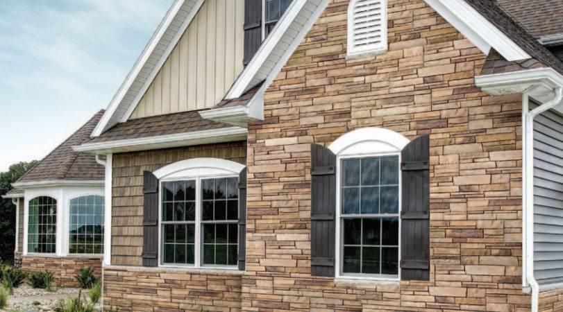 Stone Siding Window World Central Alabama