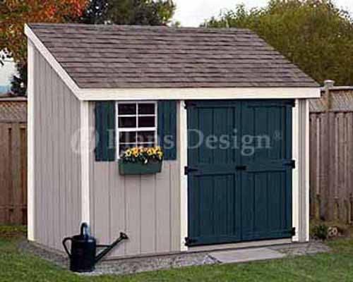 Storage Utility Garden Shed Building Plans