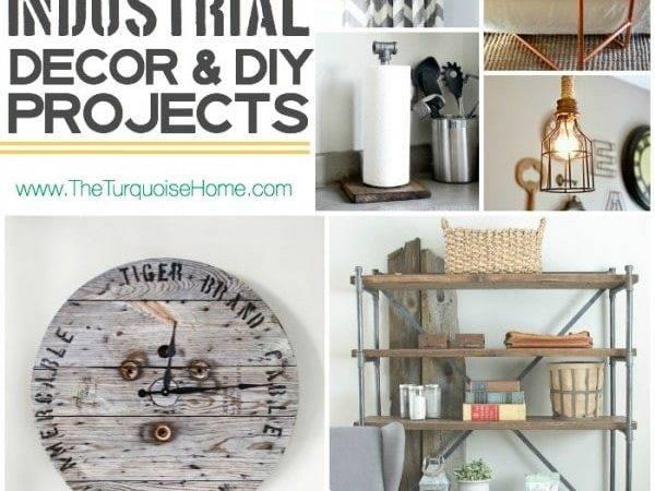 Style Trend Rustic Industrial Decor Ideas Diy