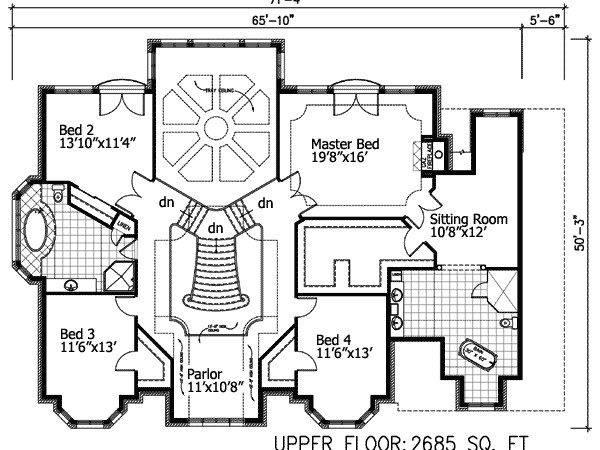 Sunken Living Room Architectural Designs