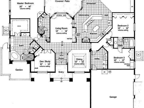 Sunken Living Room Beauty Architectural