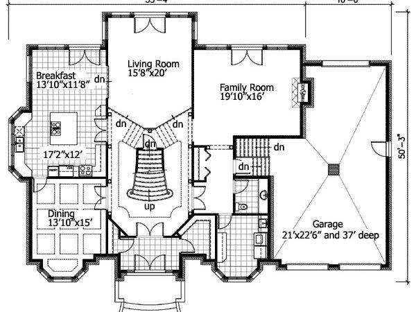 Sunken Living Room Floor Master Suite Cad