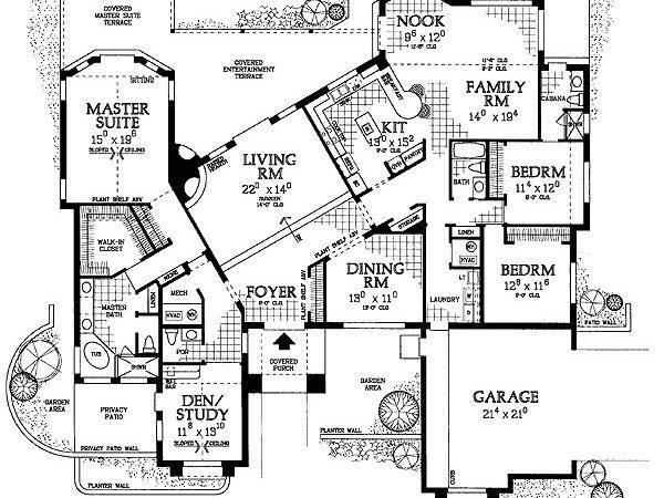 Sunken Living Room Floor Master Suite