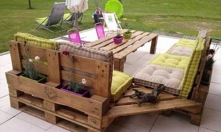 Surprising Design Ideas Wood Pallet Furniture Designs