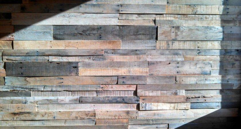 Sustainable Lumber Wood Wall Panels Reclaimed Pallet