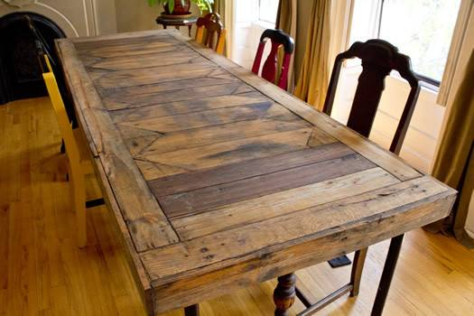 Sweet Displaying Pallet Dining Room Table