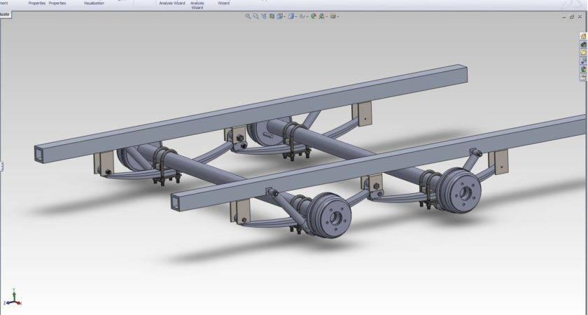 Tandem Axle Utility Trailer Plans Bing Trailers