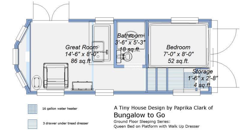 Tiny House Plans Trailer