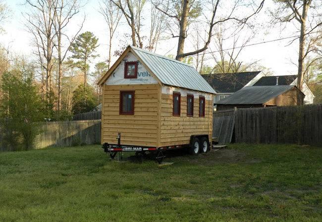 Tiny House Plans Wheels Home Kaf Mobile Homes