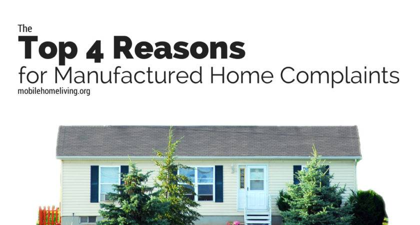Top Reasons Manufactured Home Complaints