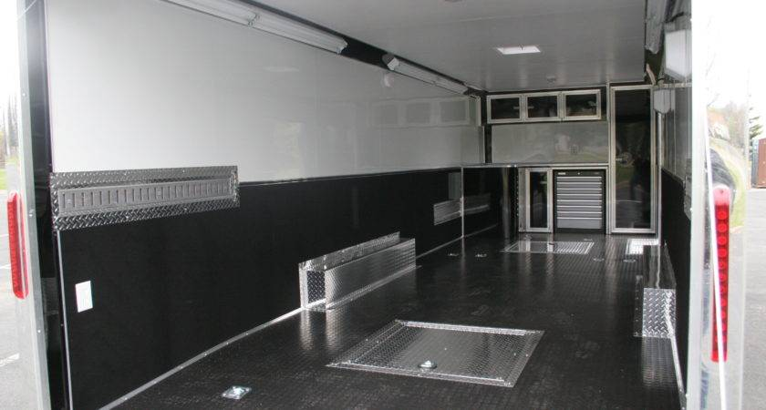 Touch Class Trailers Black Aluminum Race Car