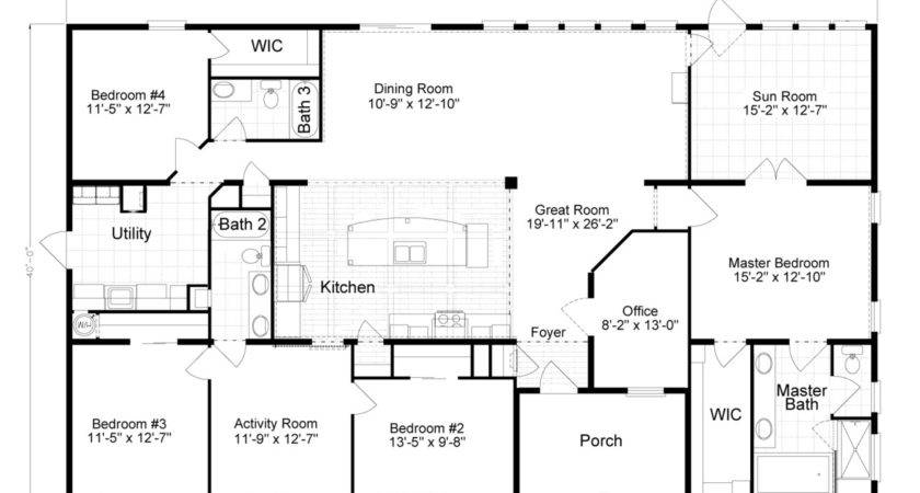Tradewinds Floor Plan Palm Harbor