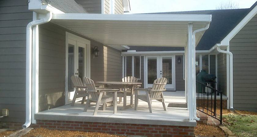 Traditional Aluminum Patio Covers