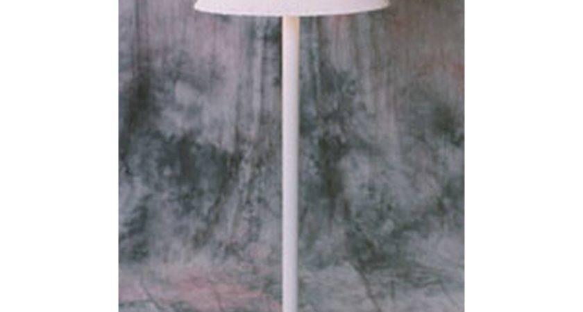 Traditional Floor Lamp White Frame Dfohome
