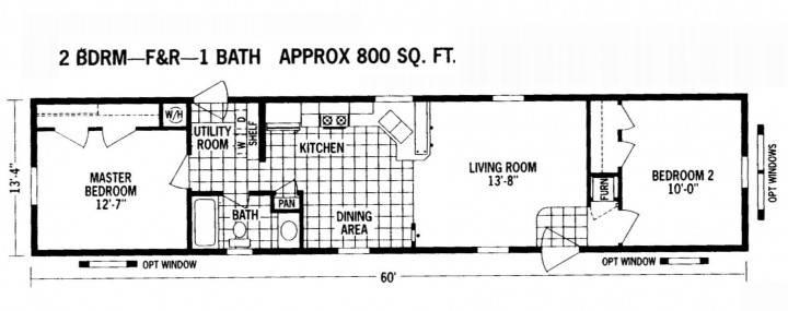 Trailer Homes Floor Plans Create