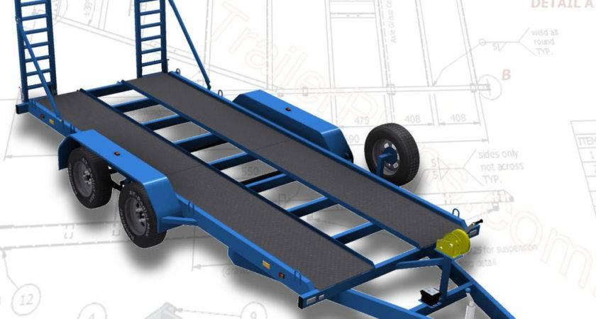Trailer Plans Flatbed Car