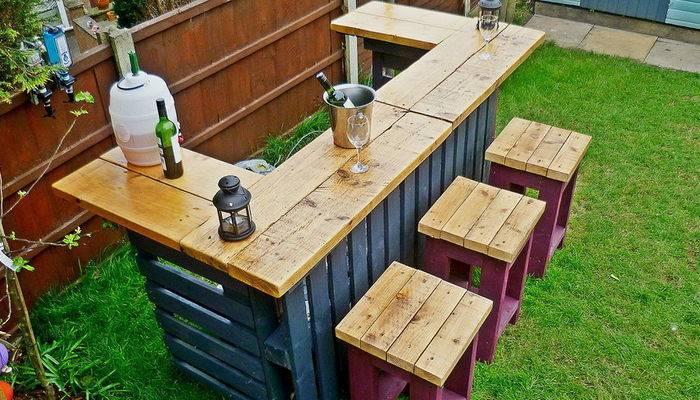 Tremendous Building Outdoor Furniture Pallets