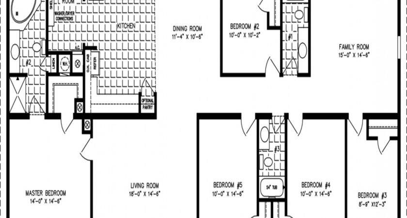 Triple Wide Manufactured Home Floor Plans Lock Into