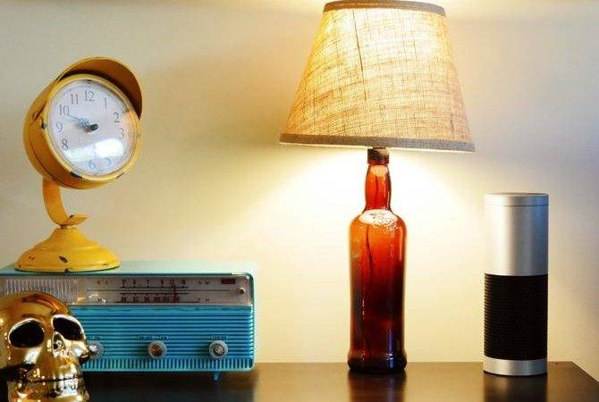 Turn Old Liquor Bottle Into Lamp Minutes