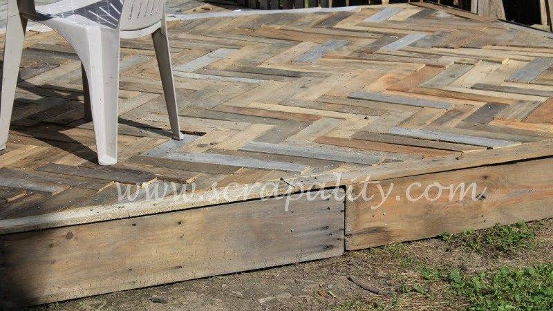 Two Level Pallet Deck Scrapality