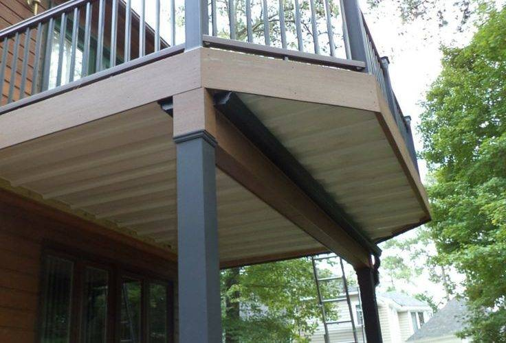 Two Story Deck Design Ideas Archadeck Louis Decks