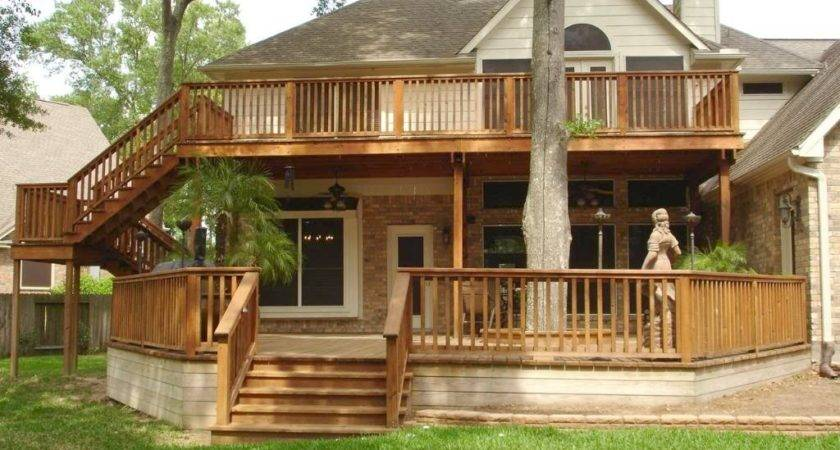 Two Story Deck Designs Home Design Inspiration