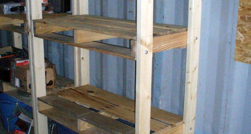 Unique Bookcases Made Out Pallets Yvotube