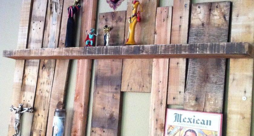 Upcycled Pallet Shelf Project