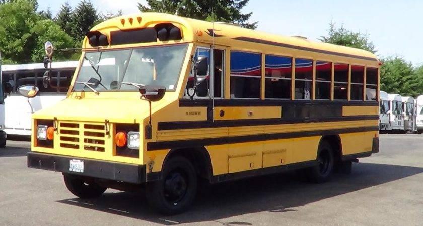 Used Blue Bird Handy Bus Diesel School