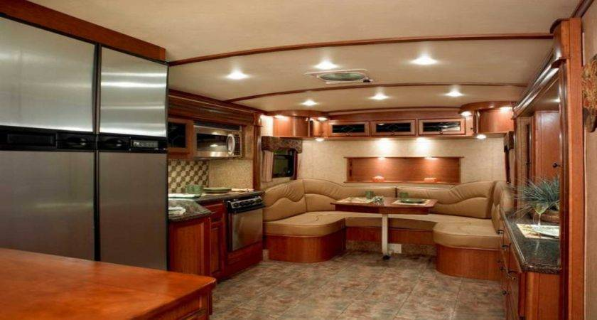 Used Fifth Wheel Campers Front Living Room