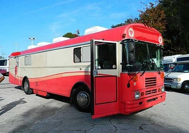 Used Medical Bus Bluebird Custom Sale
