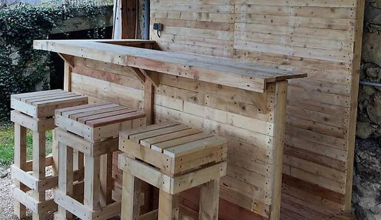 Used Pallet Projects Ideas