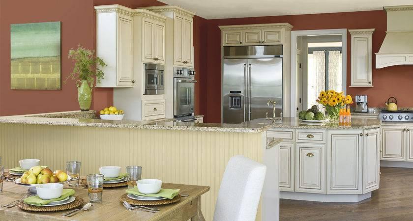 Varied Kitchen Paint Color Ideas Radionigerialagos